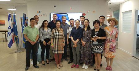משלחת של משרד תיווך מוביל מ-Chengdu, סין בנוגע לתוכנת תיווך